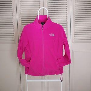 The North Face tundra full zip fleece jacket